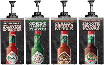 TABASCO® Kid Tested for School Lunches